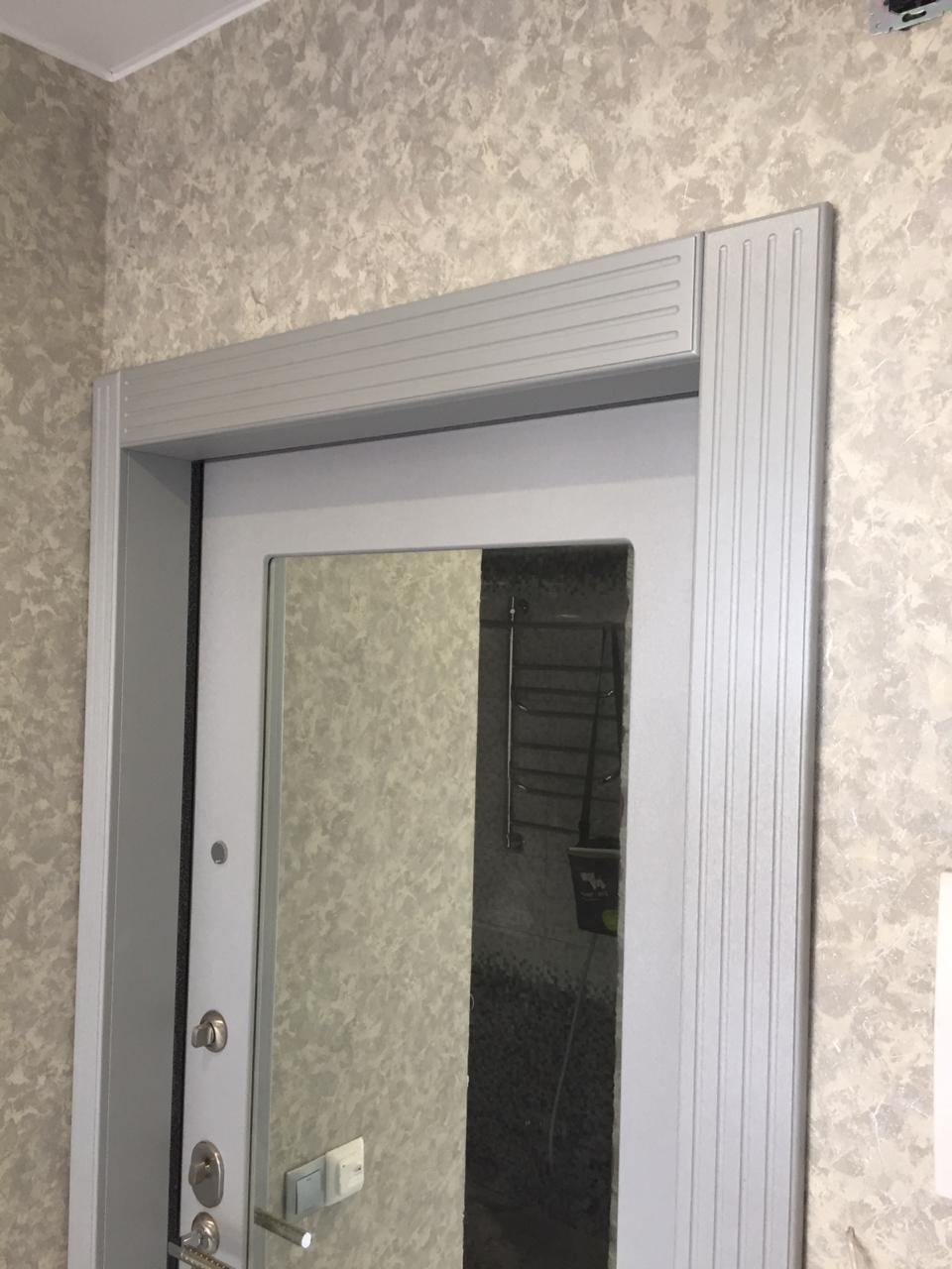 оформление откосов межкомнатных дверей фото короткие